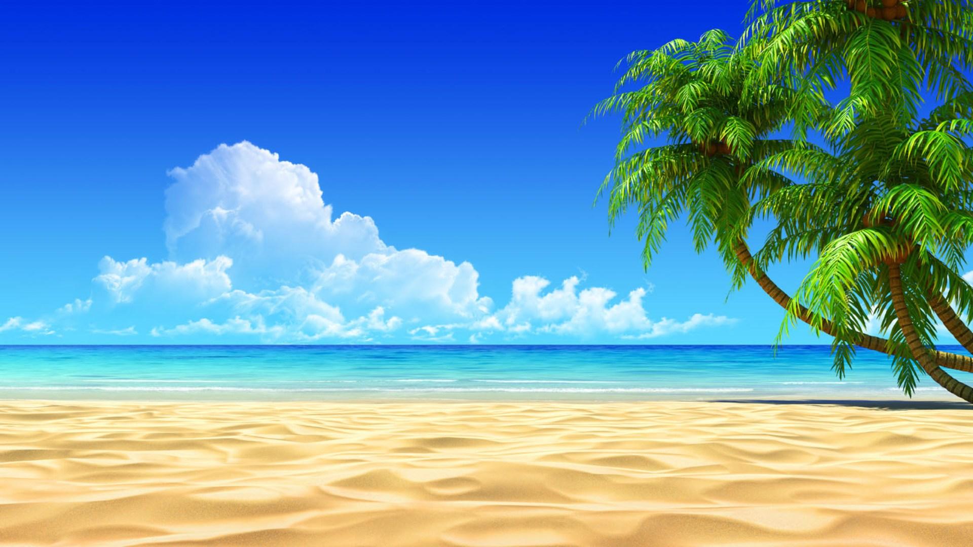 Ipad Wallpaper Beach Scenes: Free Beach Wallpapers And Screensavers