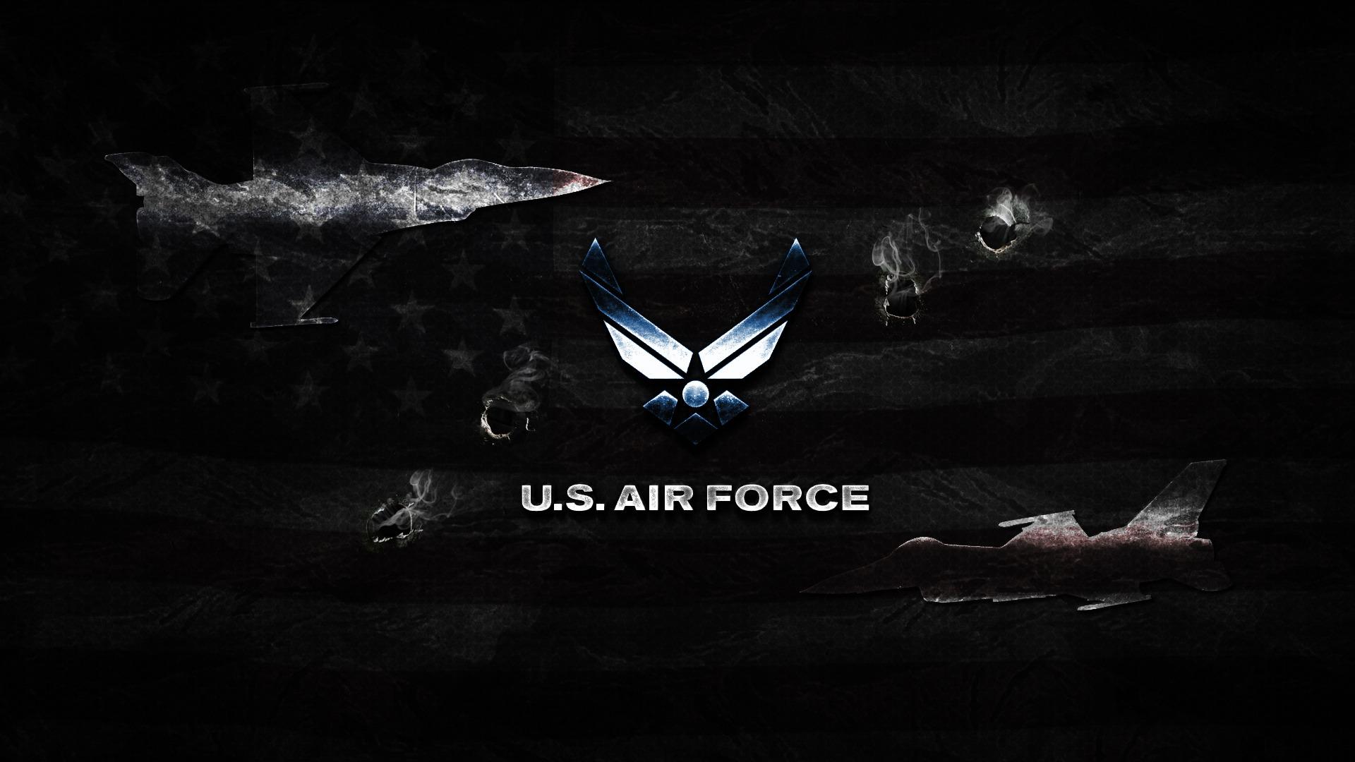 Air Force logo wallpaper 19266 1920x1080