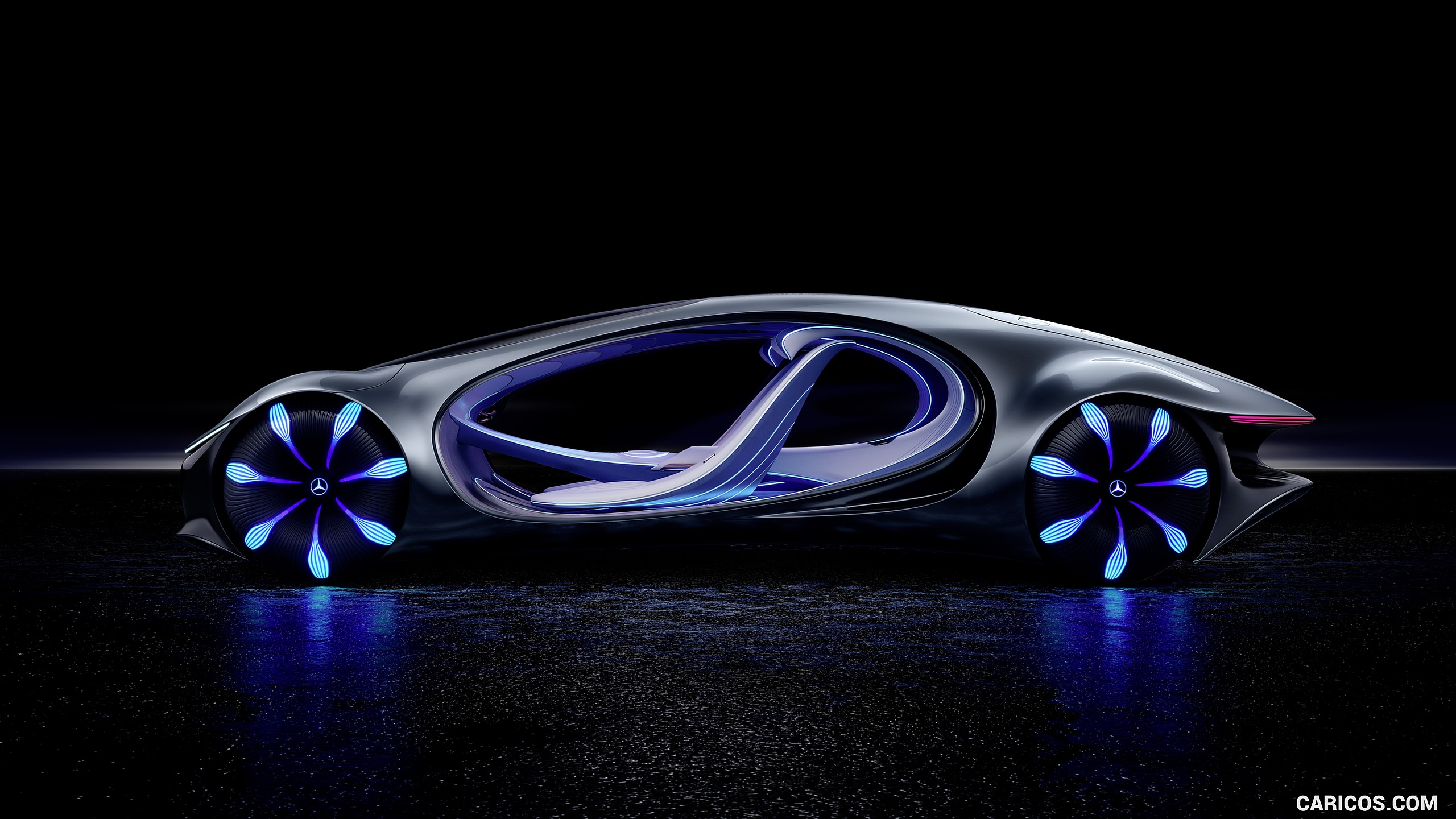 2020 Mercedes Benz VISION AVTR Concept   Side HD Wallpaper 3 2560x1440