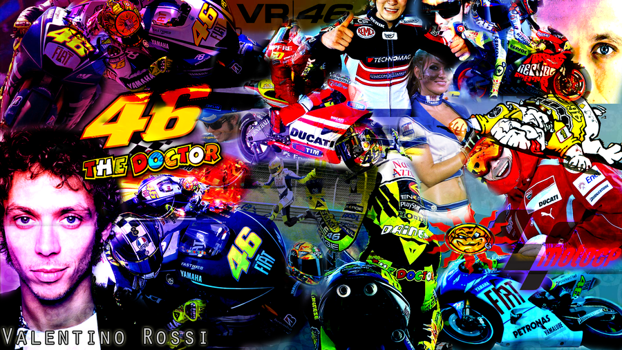Valentino Rossi Wallpaper by Jakec 94 900x506