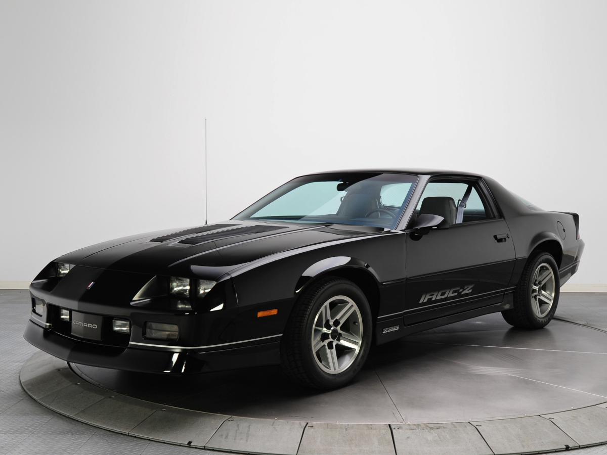 Chevrolet Camaro IROC Z Wallpapers High Quality Download 1200x900