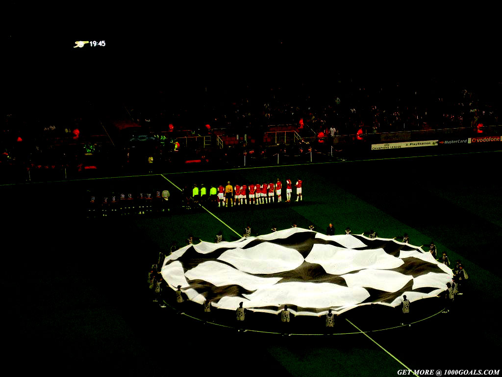 Champions League wallpapers 1000 Goals 1024x768