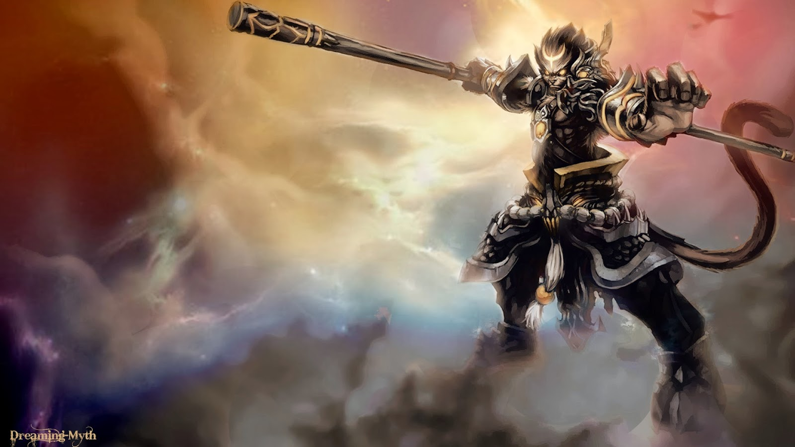 Wukong Desktop Backgrounds Wukong LOL Champion Wallpapers 1600x900