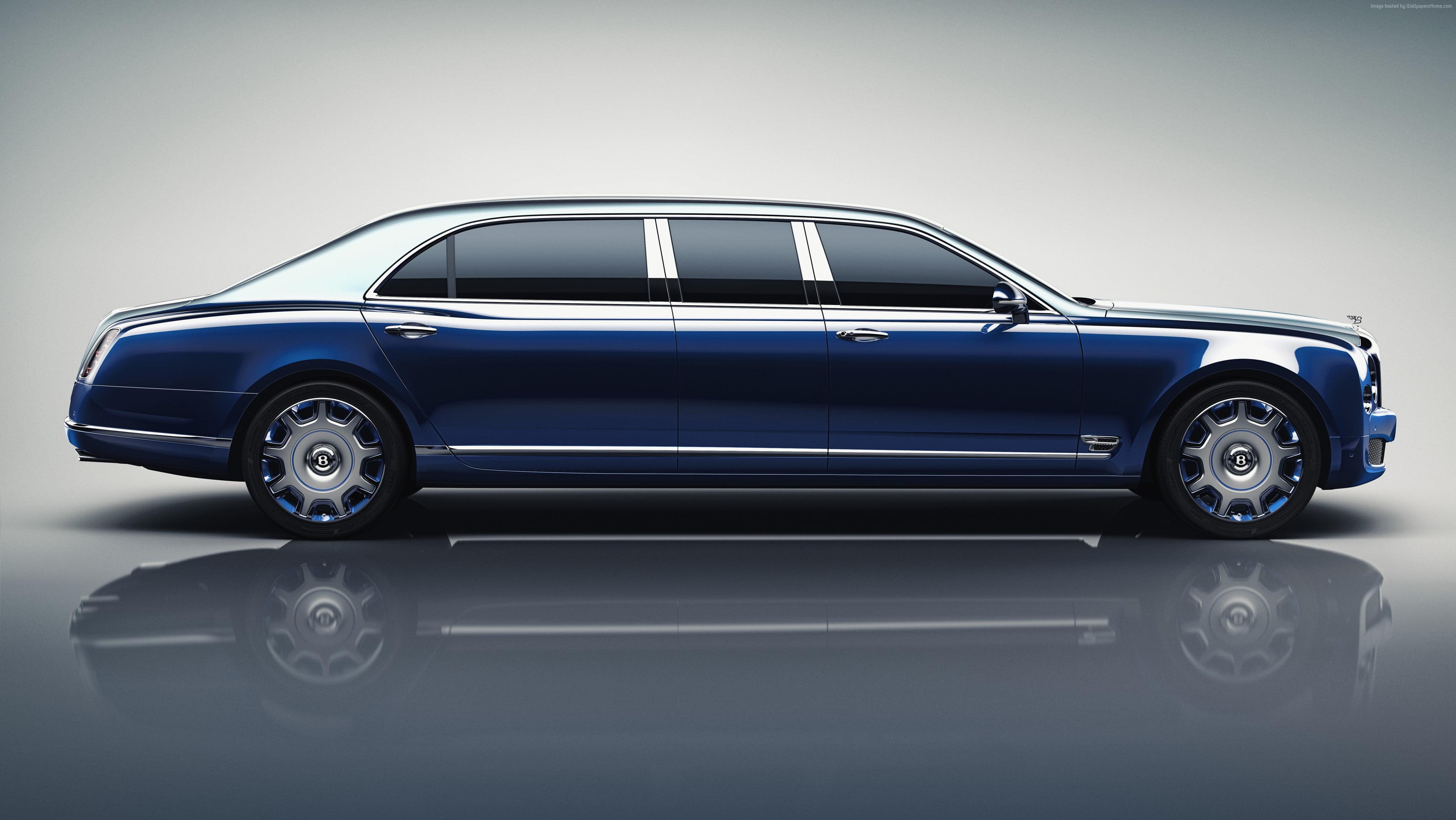 Blue Rolls Royce limousine HD wallpaper Wallpaper Flare 4096x2308