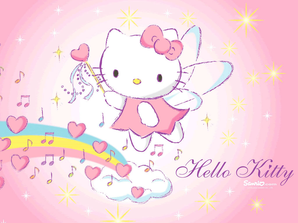 Hello Kitty Swag Wallpaper Hello kitty wallpapers pink 1024x768
