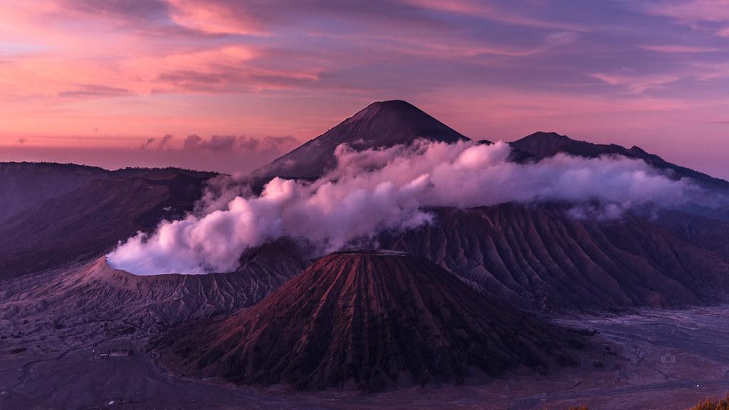Bromo Volcano   Indonesia 4K Wallpaper Desktop Backgroun Flickr 1024x576