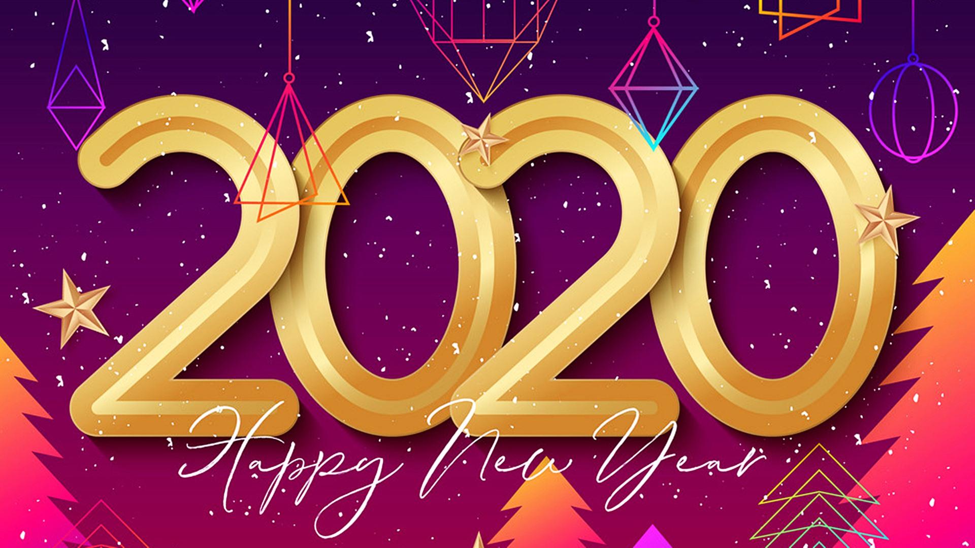 Happy New Year 2020 Best HD Wallpaper 45543   Baltana 1920x1080