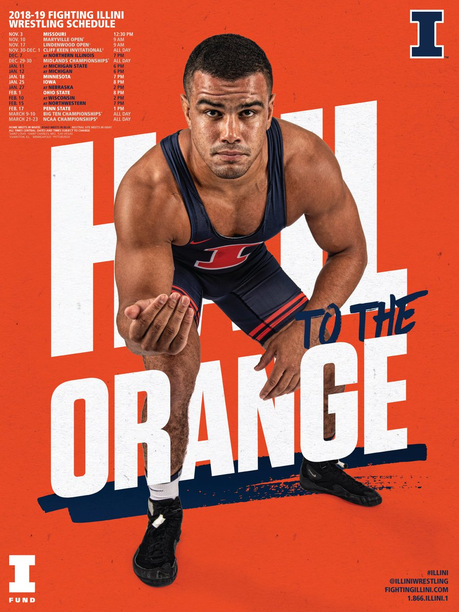 Illinois Wrestling on Twitter Poster and Wallpapers now 900x1200
