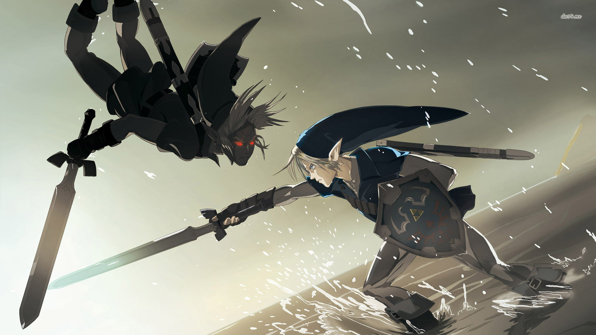 Link vs Dark Link wallpaper   728944 1920x1080