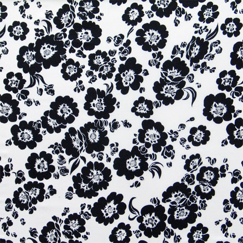 Black floral print wallpaper wallpapersafari white floral prints black white and floral wallpapers 500x500 mightylinksfo