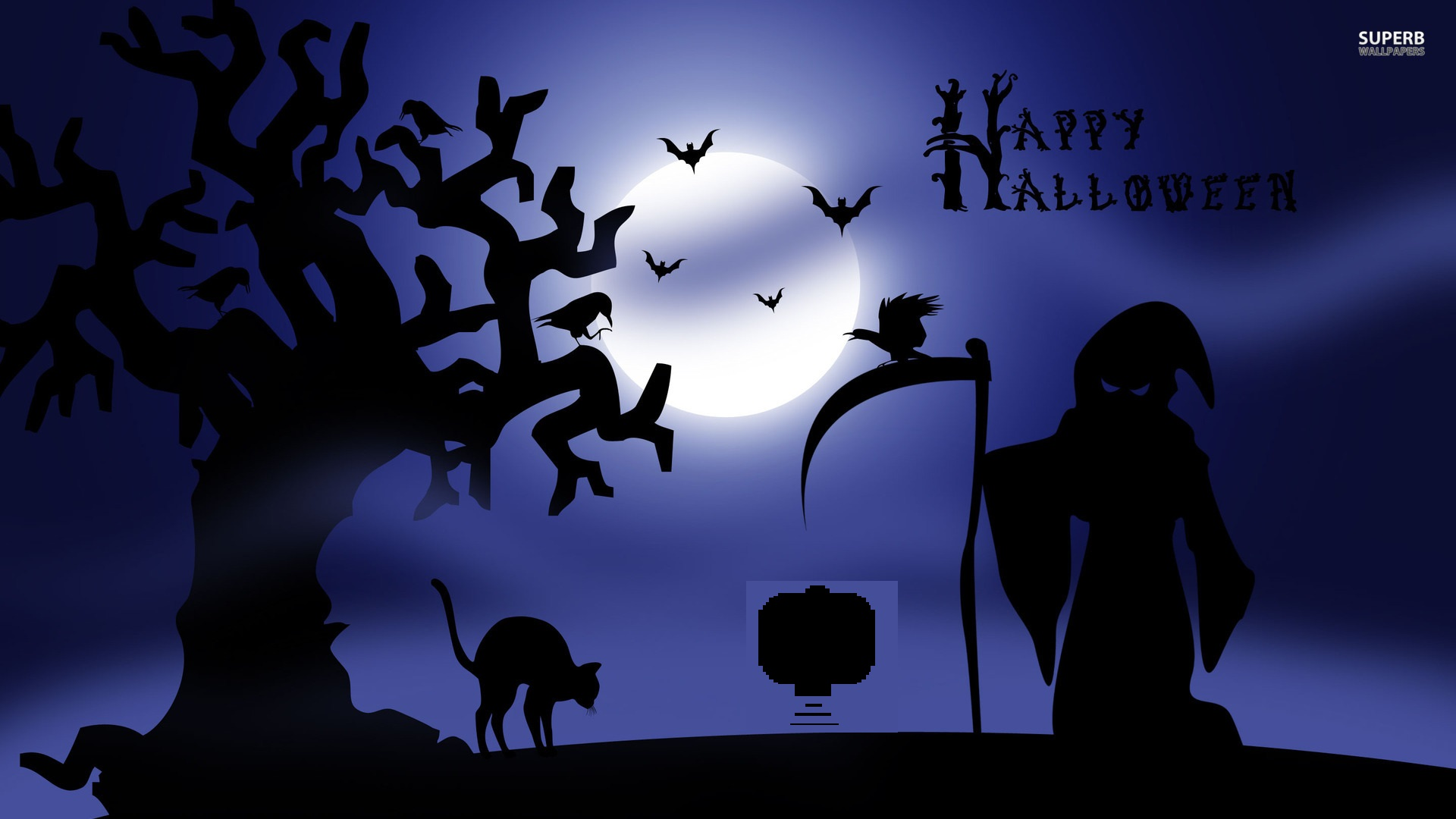 Happy Halloween Wallpaper 08 smallbot 1920x1080