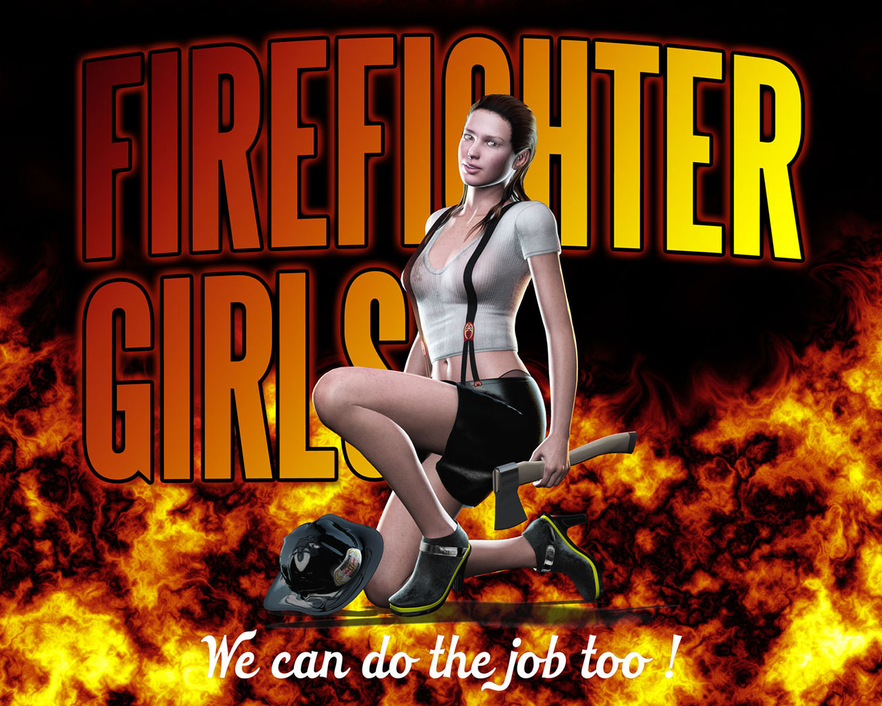 Cool Firefighter Wallpaper Firefighters 1280x1024