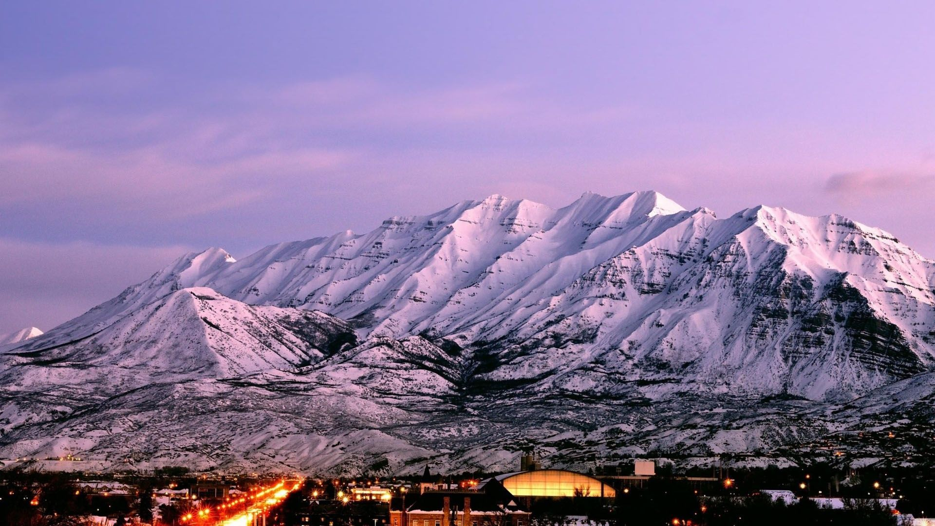 Mount Timpanogos is an 11749 foot mountain located along the 1920x1080