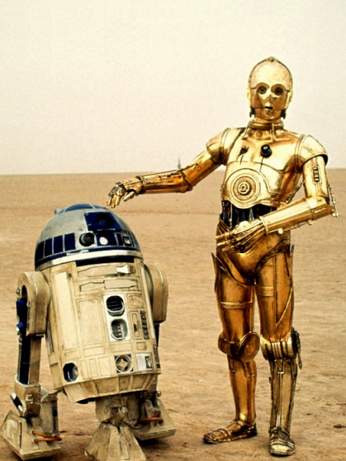 R2d2 And C3po C3PO and R2D2 Wallpape...