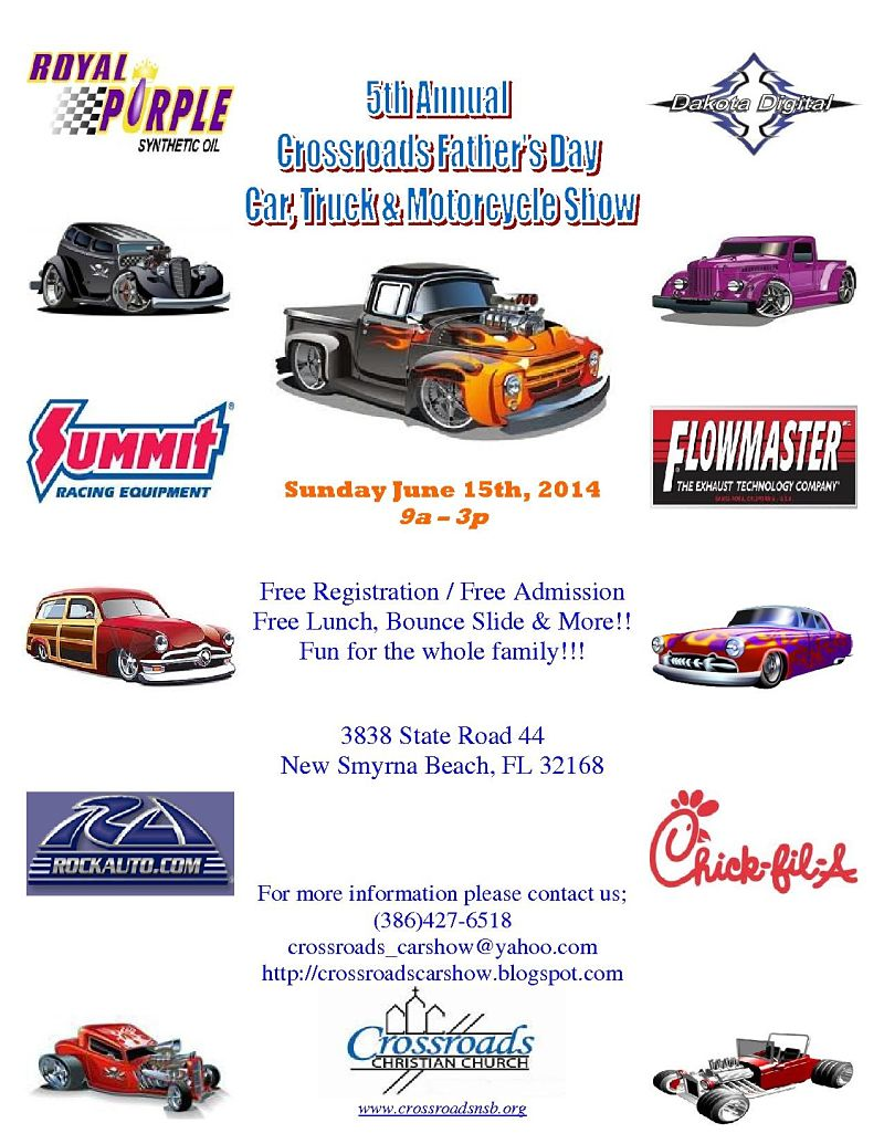 Gauge Magazine 5th Annual Crossroads Fathers Day CarTruck 800x1035