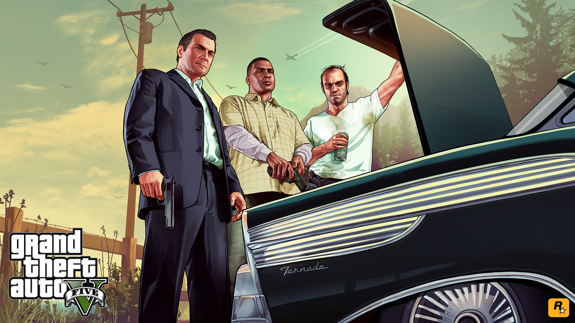GTA V 1080p Wallpapers Released Urban Decay 1920x1080