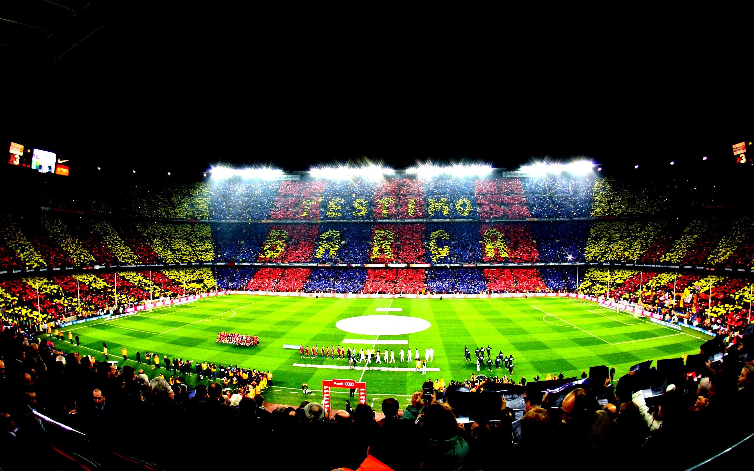 Camp Nou Wallpaper Download 2560x1600