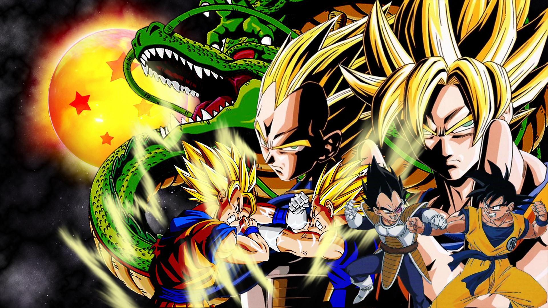 Goku vs vegeta wallpaper by vuLC4no 1920x1080