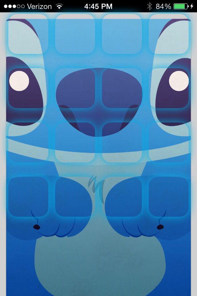 Stitch iPhone Wallpaper - WallpaperSafari