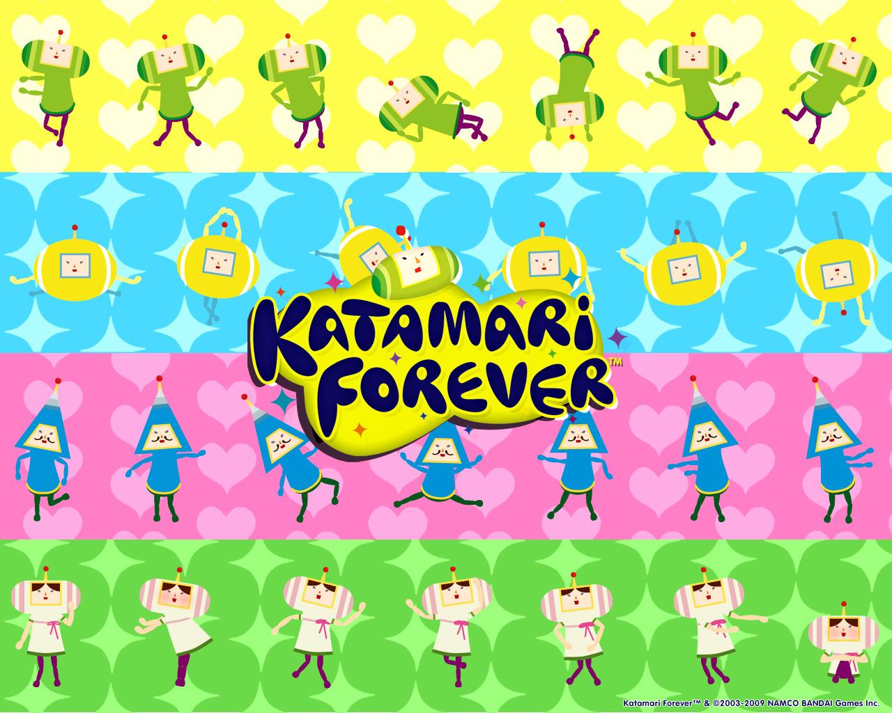 Home Wallpaper Katamari Forever Katamari Forever 1280x1024