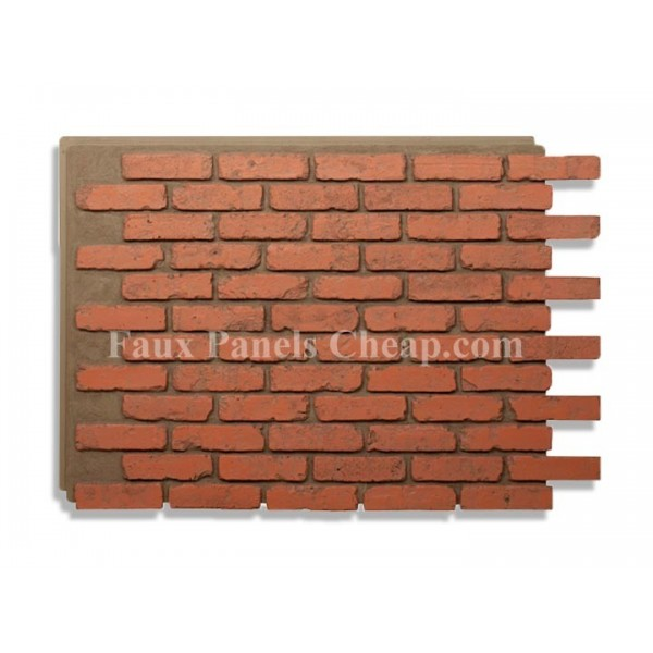 Faux Brick Panels Home Depot 600x600