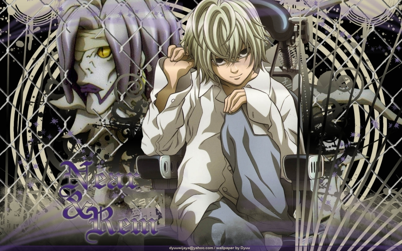 Free Download Death Note Images Near And Rem Hd Wallpaper And Background 1280x800 For Your Desktop Mobile Tablet Explore 77 Near Death Note Wallpaper L From Death Note Wallpaper