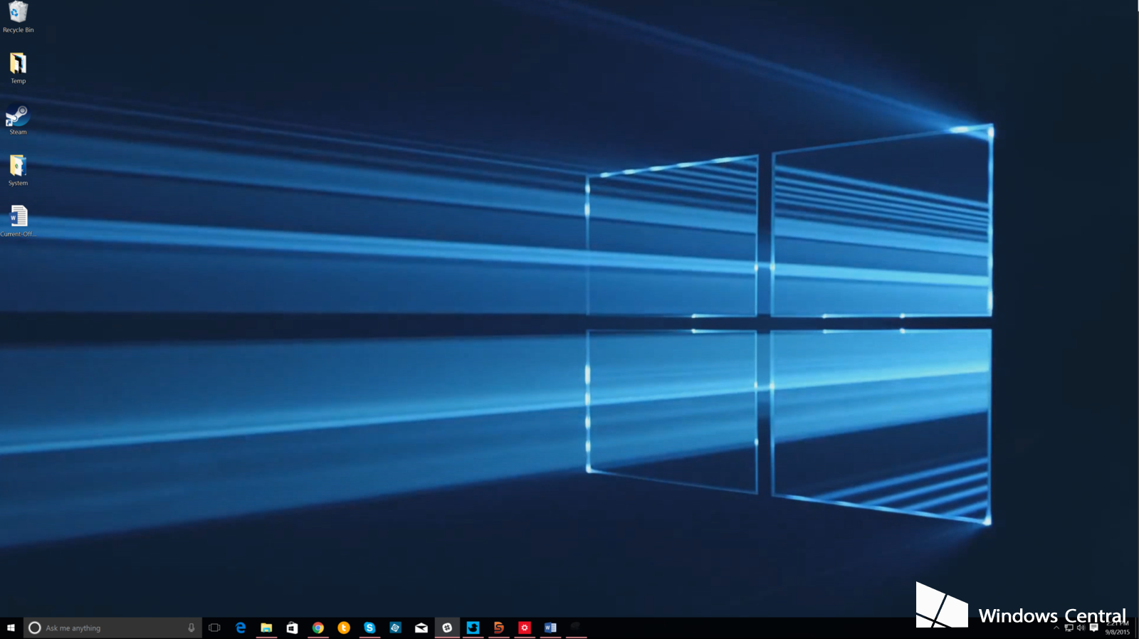 an animated desktop in Windows 10 with DeskScapes 8 Windows Central 1600x898