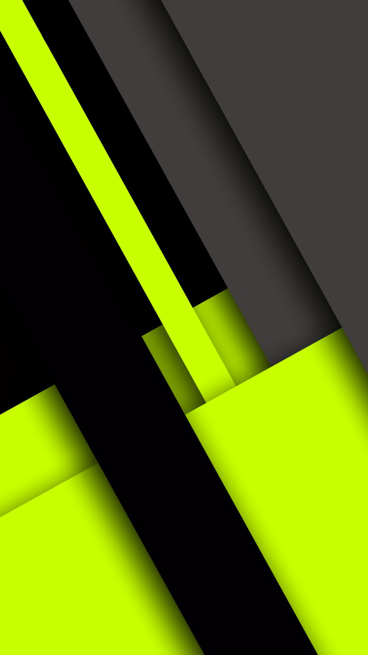 Neon Green Black and Grey Abstract Wallpaper Abstract and 720x1280