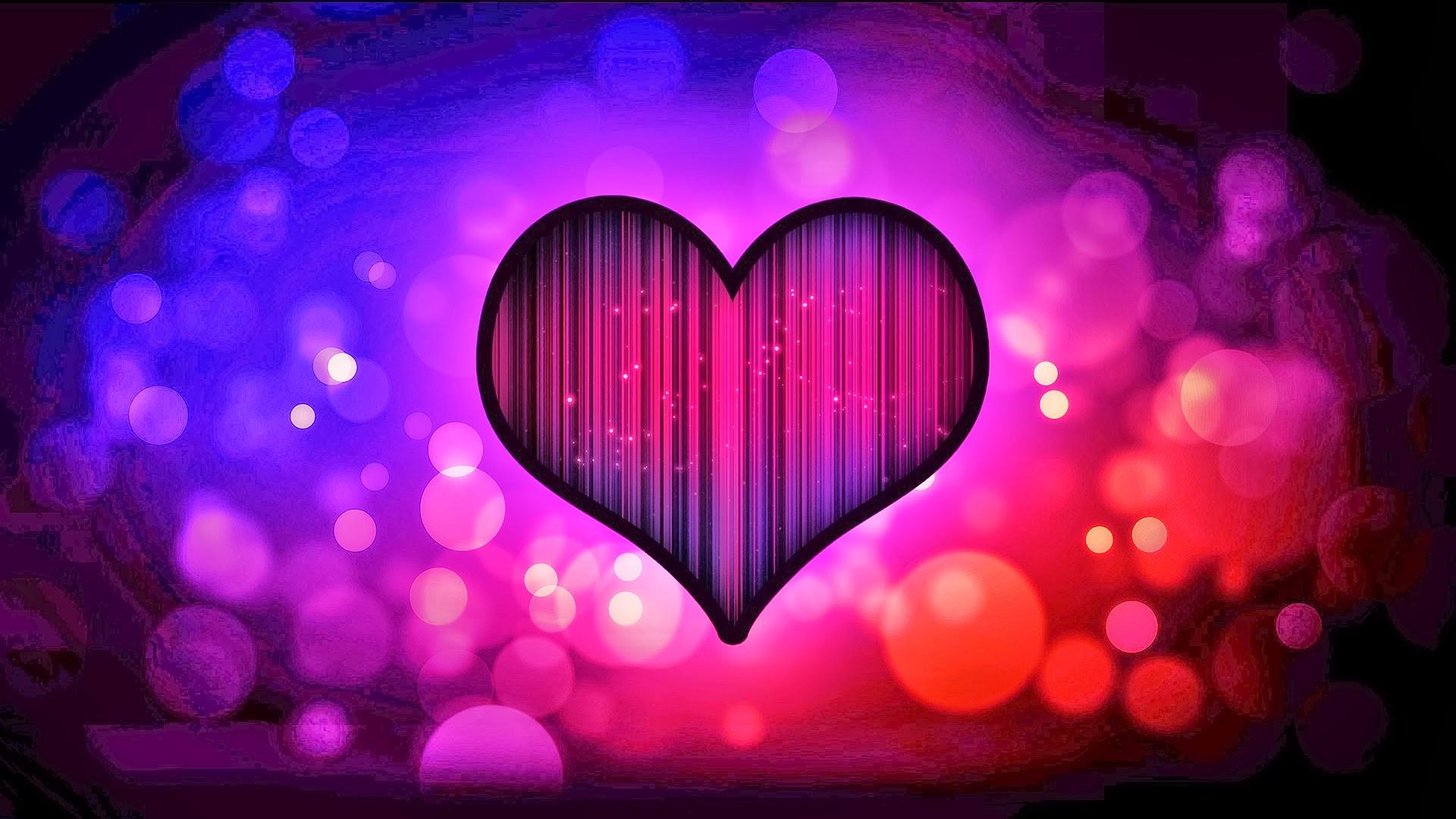 HD Hearts Wallpaper - WallpaperSafari  Abstract