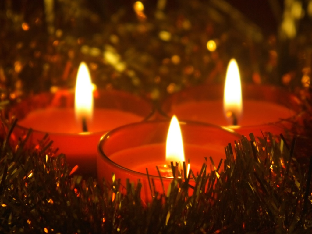 Christmas Candle Wallpapers   Download Christmas Candle Wallpapers 1024x768