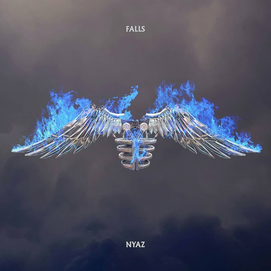 Apparently these are the two cover versions of ICARUSFALLS 1080x1080