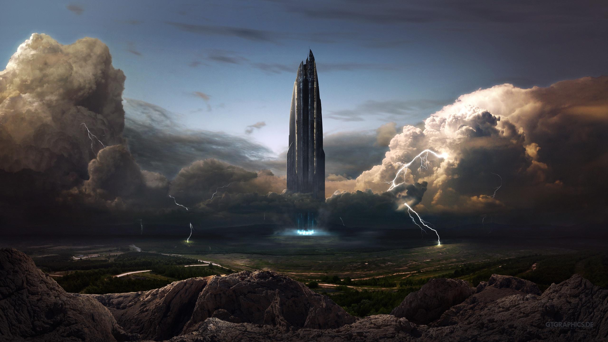 Sci Fi Landscape Wallpaper Hd Wallpapersafari