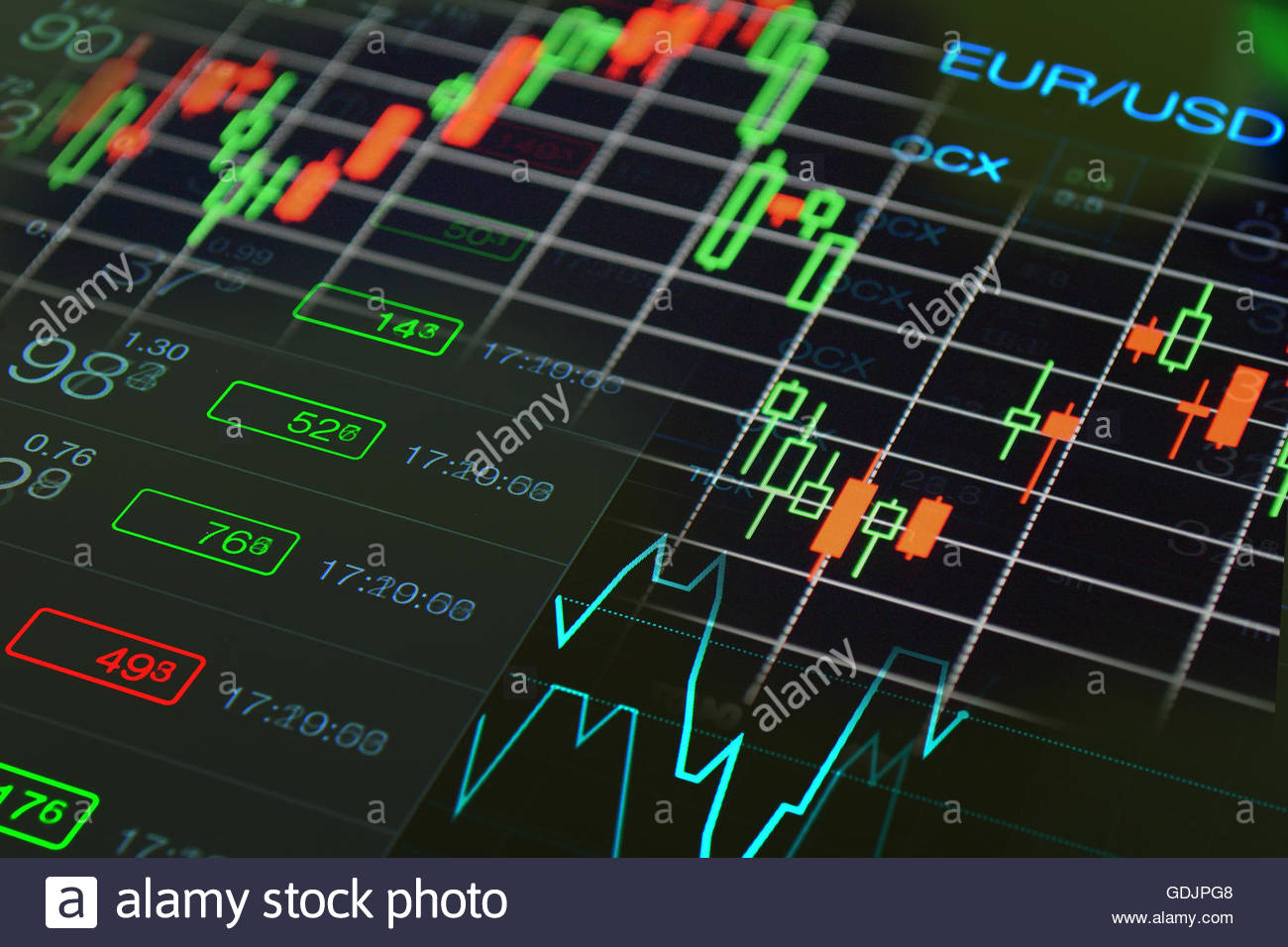 Forex financial business background Stock Photo 111665576   Alamy 1300x956