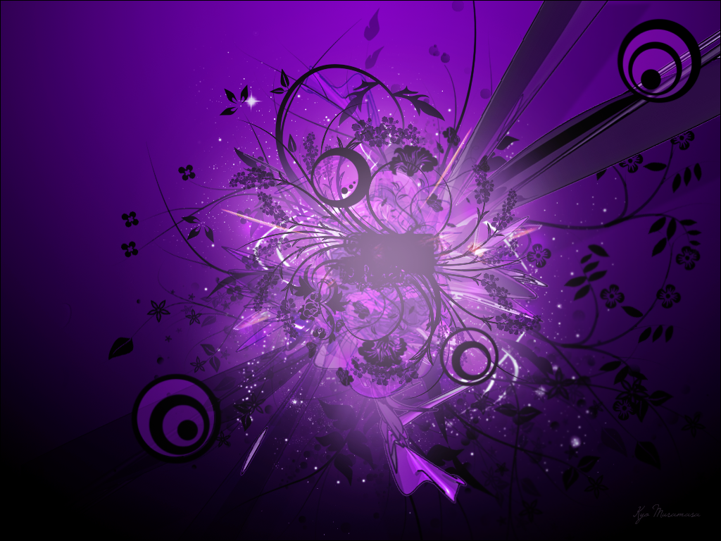 New Collections Purple Wallpapers HD New Best Wallpapers 2011 1024x768