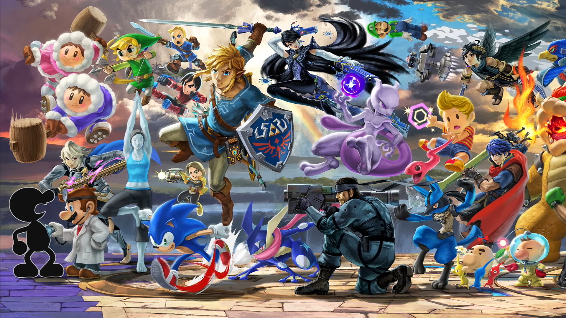 Free Download Super Smash Brothers Ultimate Wallpaper Album On
