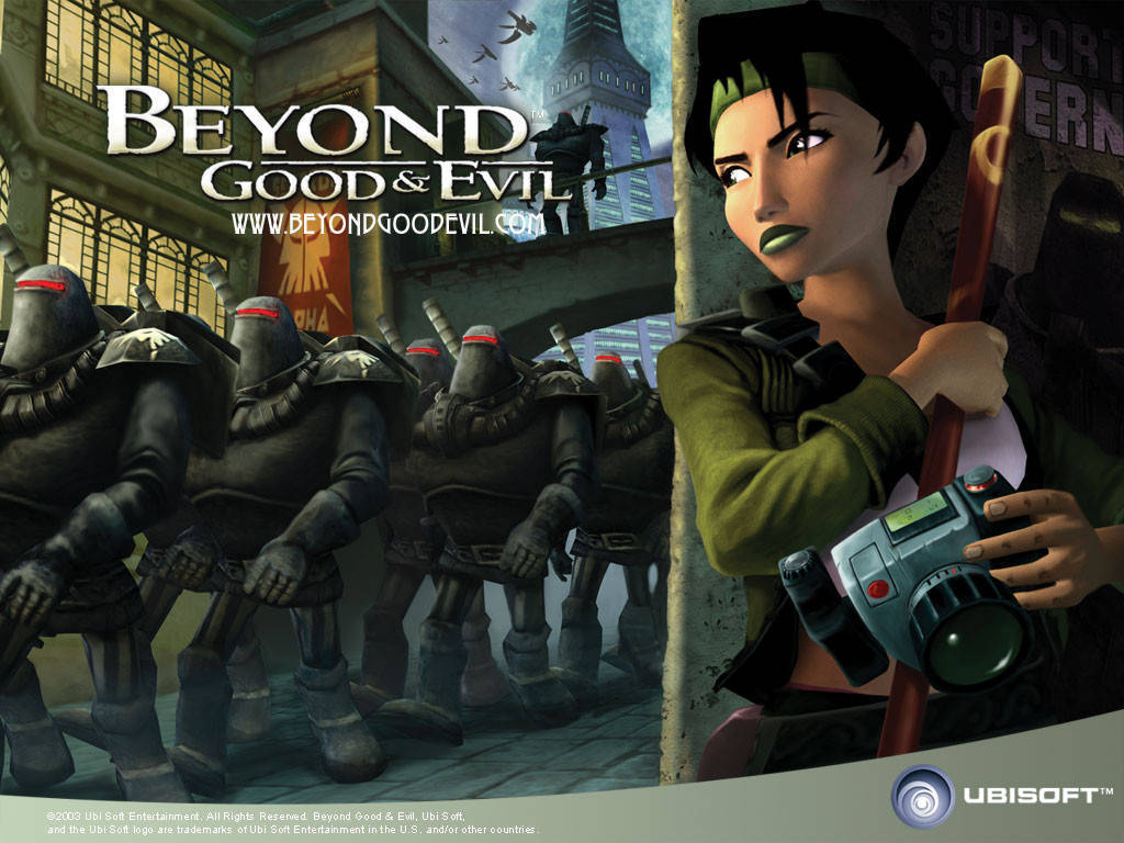 Free Download Good And Evil Wallpaper Beyond Good And Evil