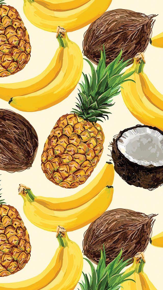 Wallpaper chido Fondos de iphone Pineapple wallpaper Summer 640x1137