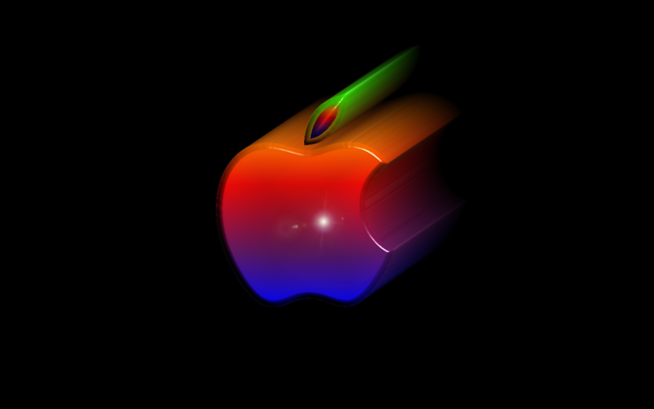 Apple Logo Wallpapers Beautiful Cool W PC 1280x800