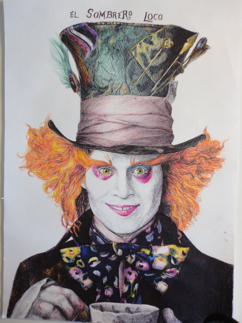 Johnny Depp Mad Hatter Wallpaper   WallpaperSafari