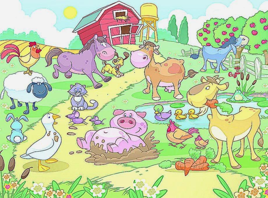 Baby Farm Animal Wallpaper - WallpaperSafari