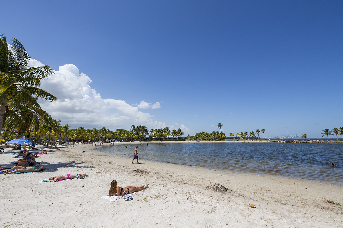 The Beach Lagoon At Matheson Hammock Park Provides Perfect 1200x800
