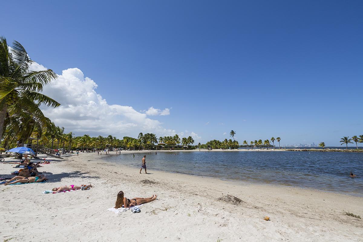 The Beach Lagoon At Matheson Hammock Park Provides Perfect 1200x800