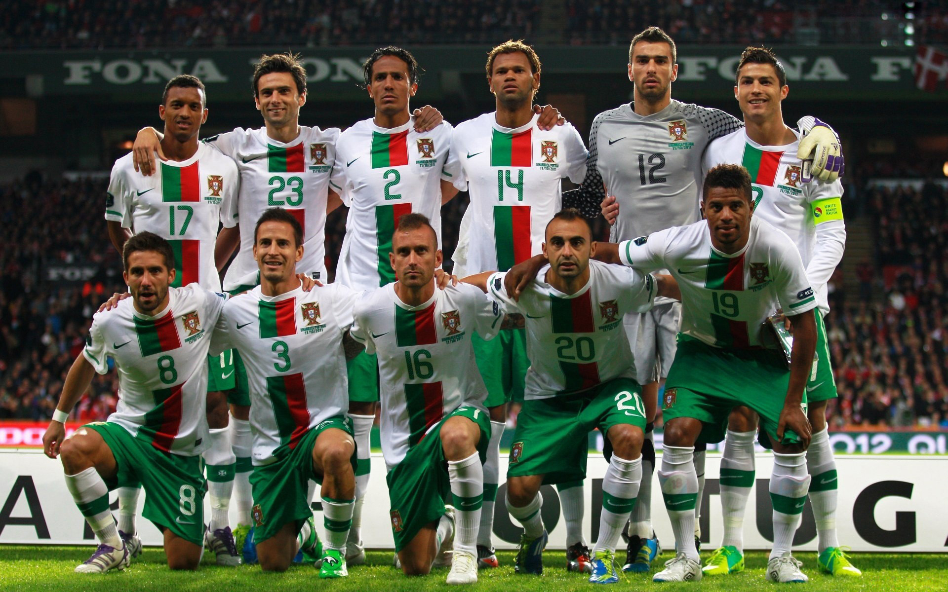 Team Portugal Euro 2012 wallpapers and images 1920x1200