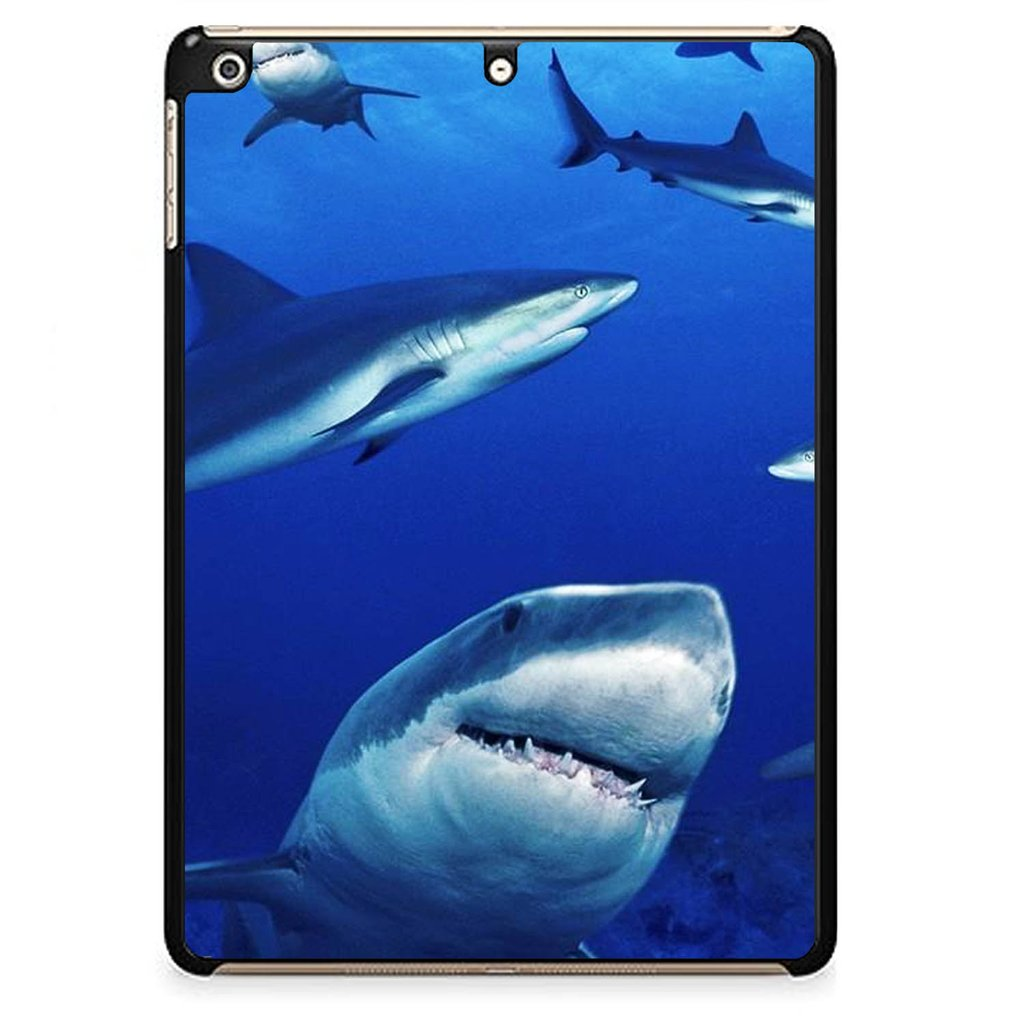 Shark In Water Wallpaper Y1949 iPad Air 1 Case Recovery Case 1024x1024