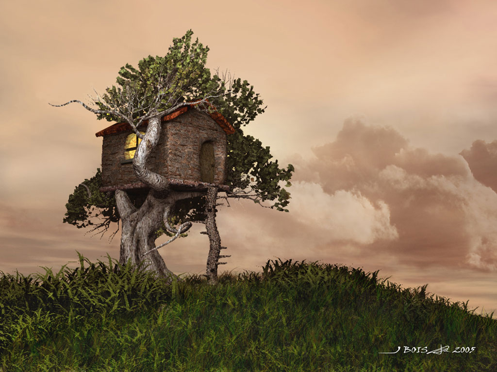 Free Download Hq Tree House Wallpaper Hq Wallpapers