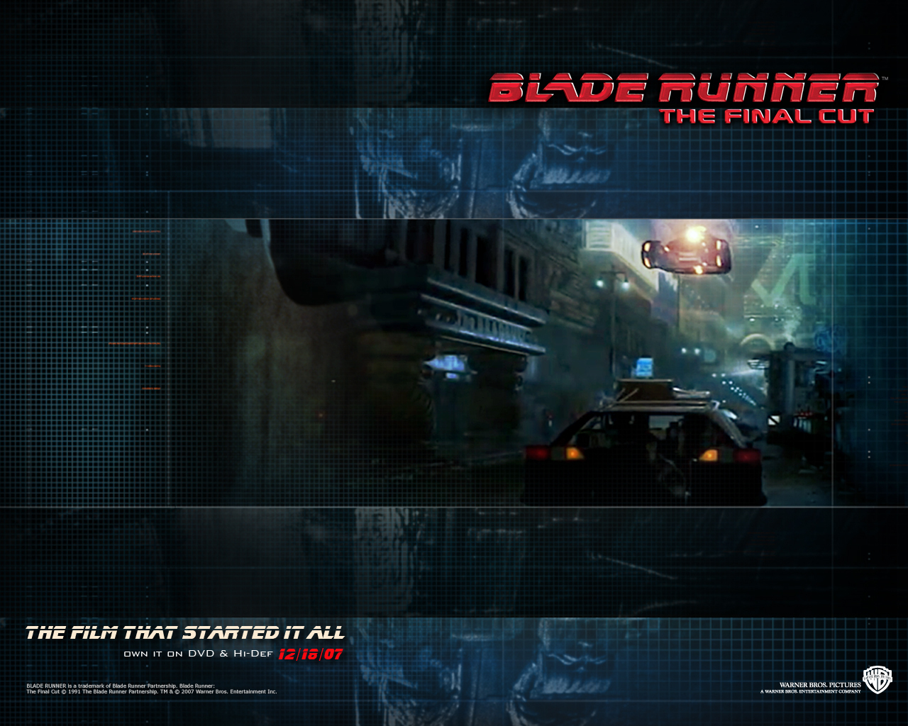 Official Blade Runner Wallpaper   Blade Runner Wallpaper 8207510 1280x1024