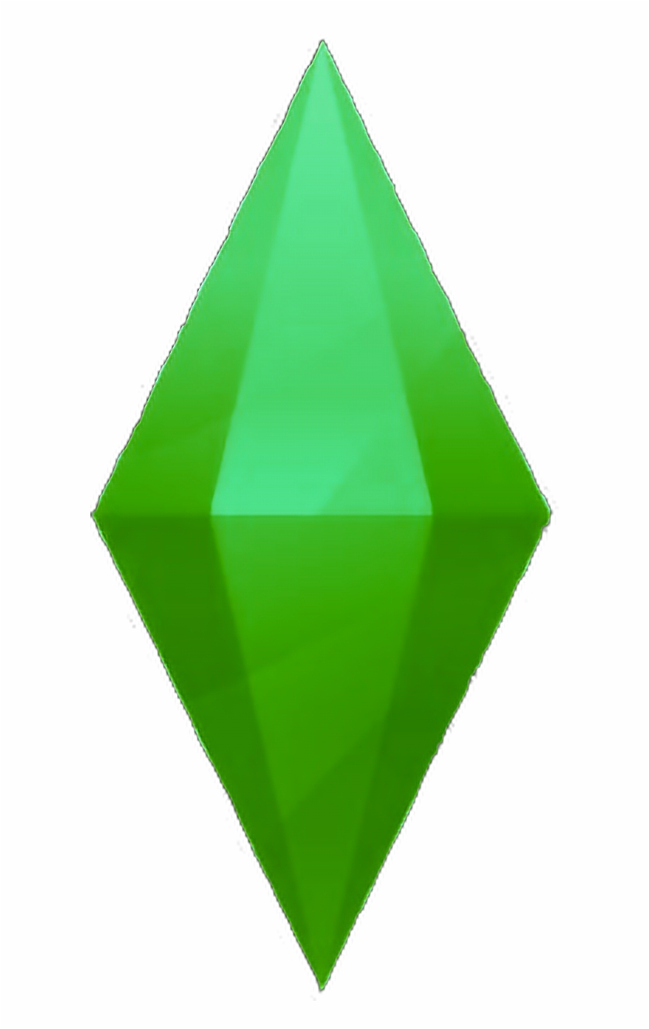 sims sims3 sims4 logo videogame   Sims 4 Plumbob Png   sims 4 920x1457