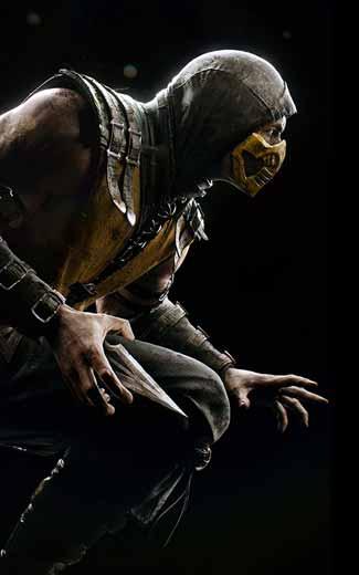 Mortal Kombat X mobile wallpaper or background 01 325x520