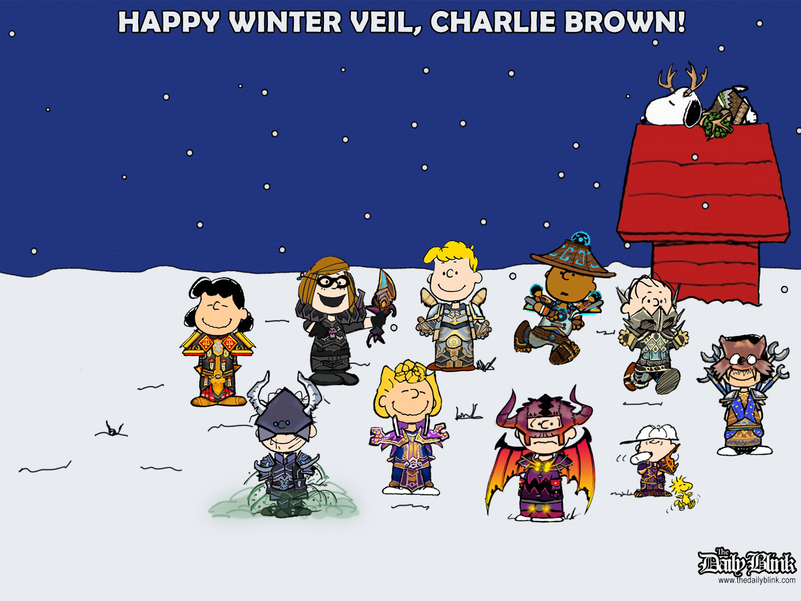 winter wallpaper charlie brown - photo #5