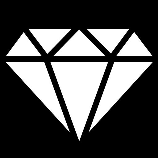 Cut diamond icon Game iconsnet 512x512